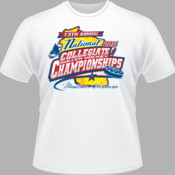2011 13th Annual National Collegiate Roller Hockey Championships - White - Heavy Cotton 100% Cotton